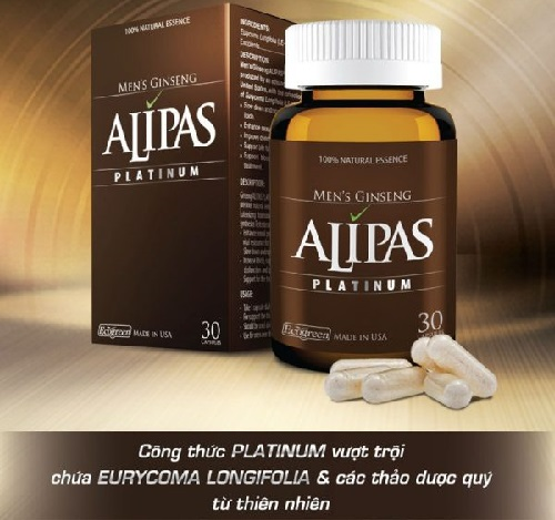 Thuốc tăng cường sinh lý Sâm Alipassâm alipas